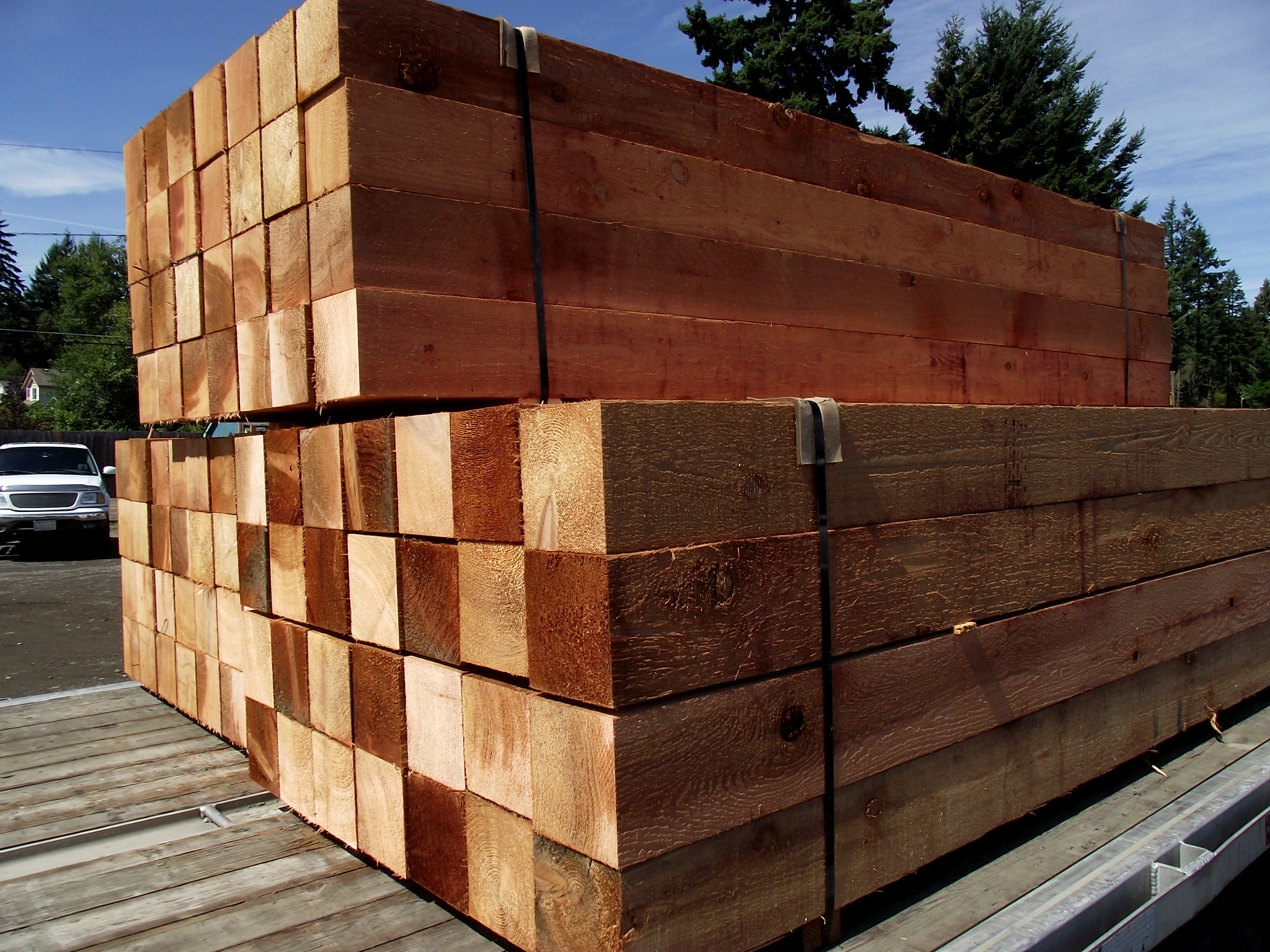 Cedar Boards and Timbers Product categories Mill Outlet Lumber