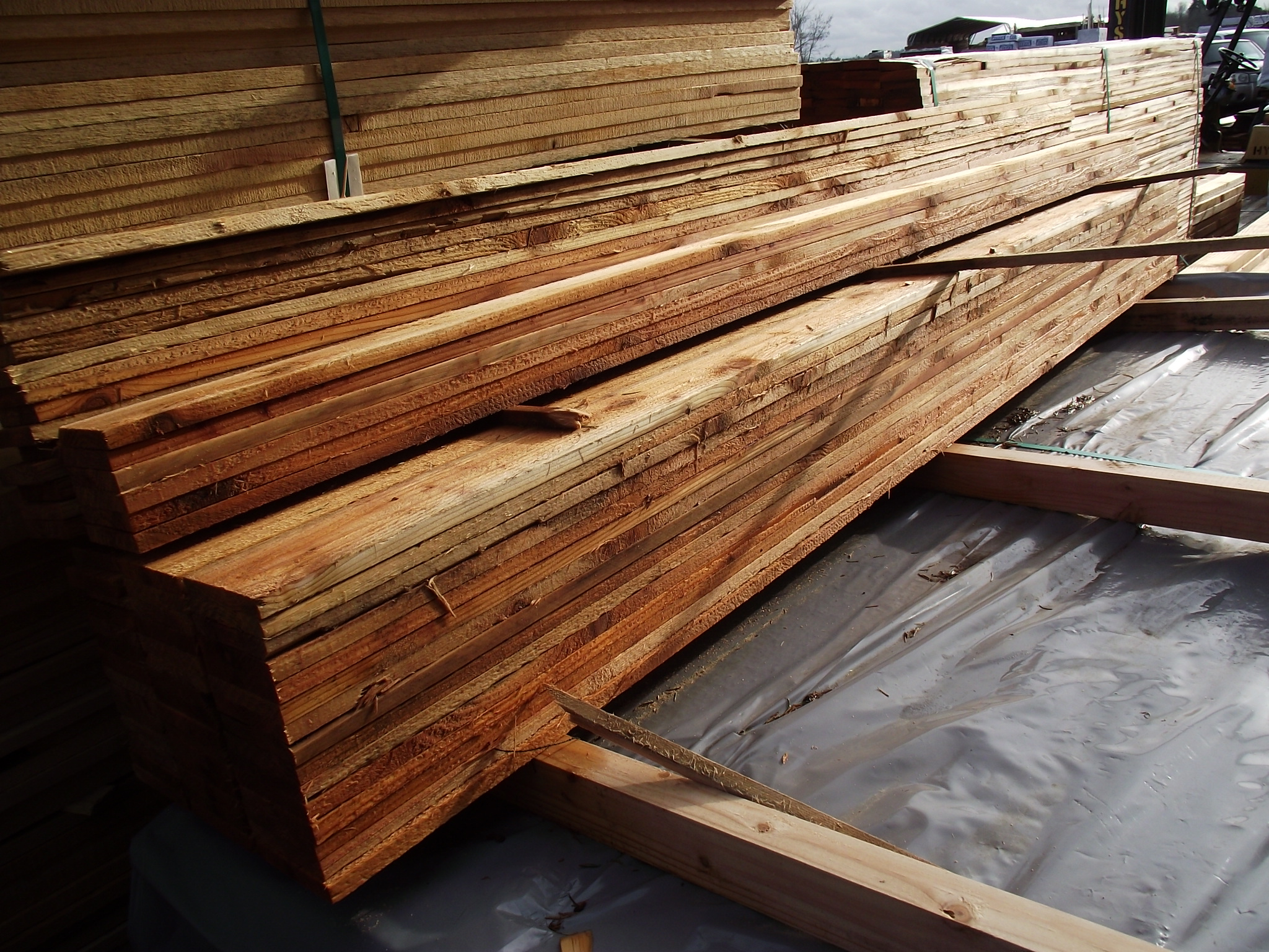 1 215 4 8 3 Cedar Fence Board And Trim 171 Mill Outlet Lumber