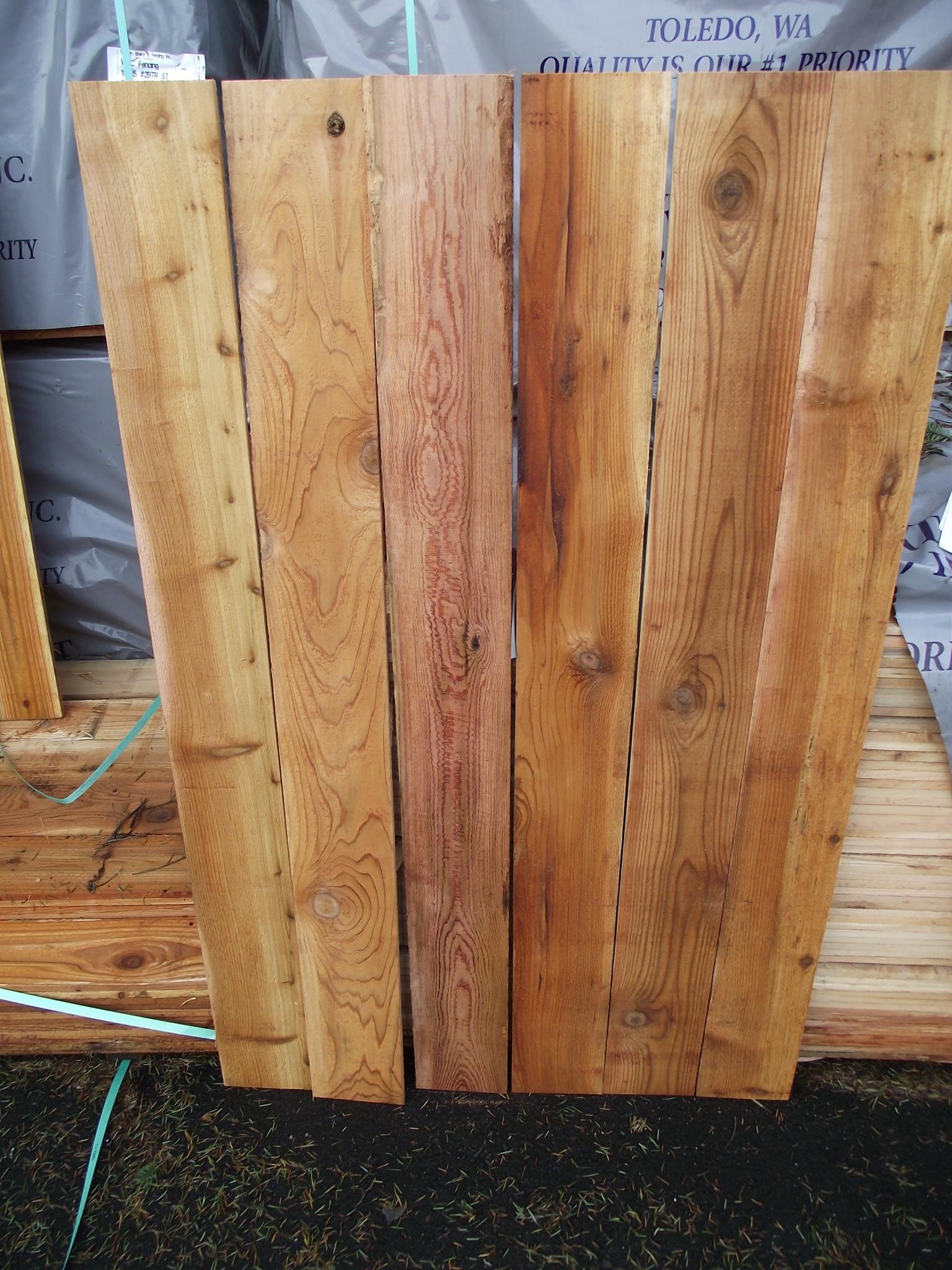 1à 6 5 3 cedar fence board mill outlet lumber