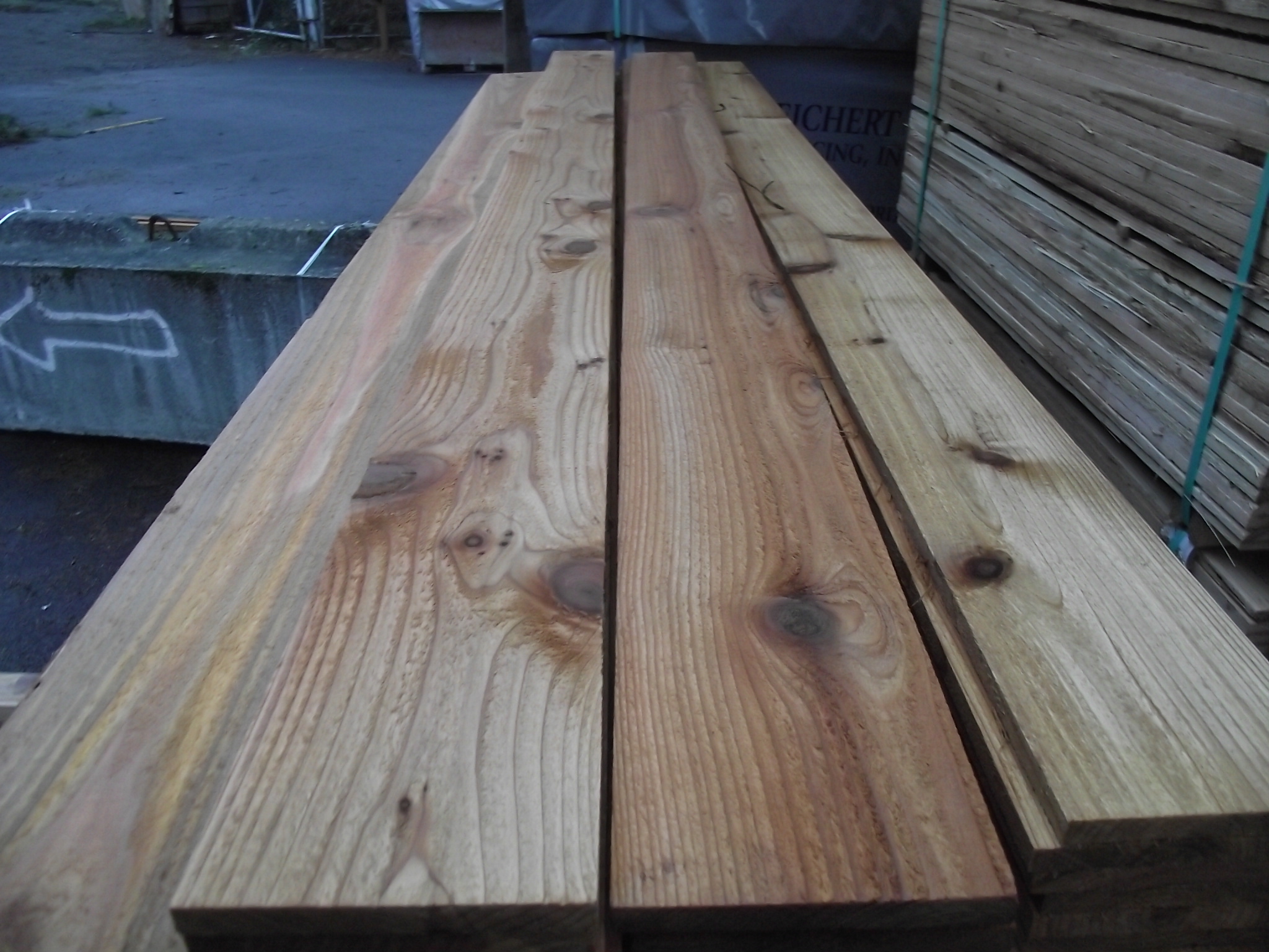 1 215 6 8 1 Cedar Fence Board And Trim 171 Mill Outlet Lumber