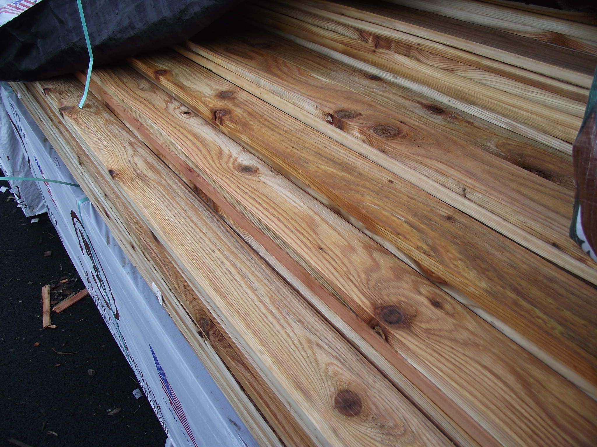 1 215 4 12 Appearance Grade Knotty Cedar 171 Mill Outlet Lumber