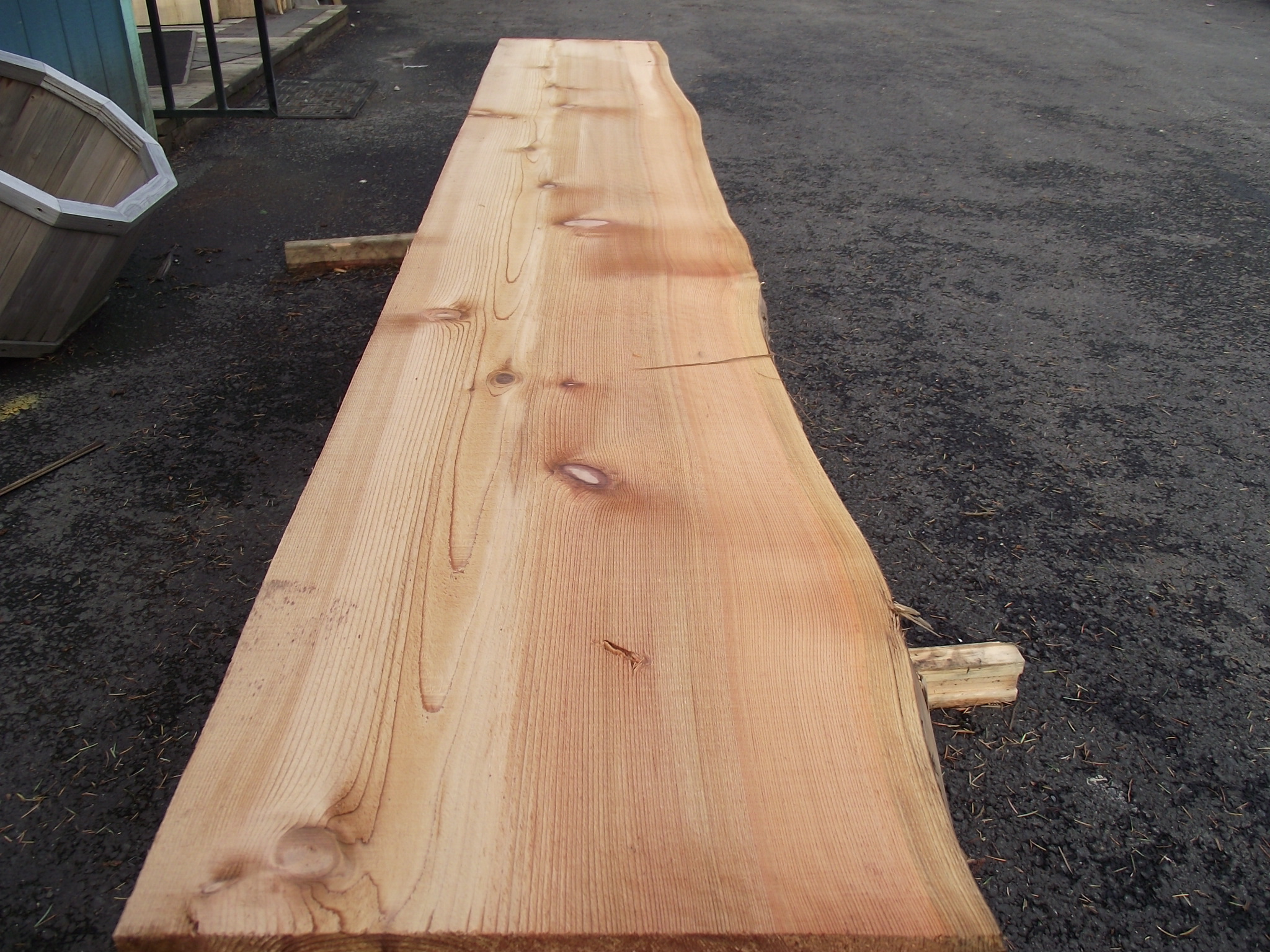 Cedar Live Edge Slabs 171 Mill Outlet Lumber