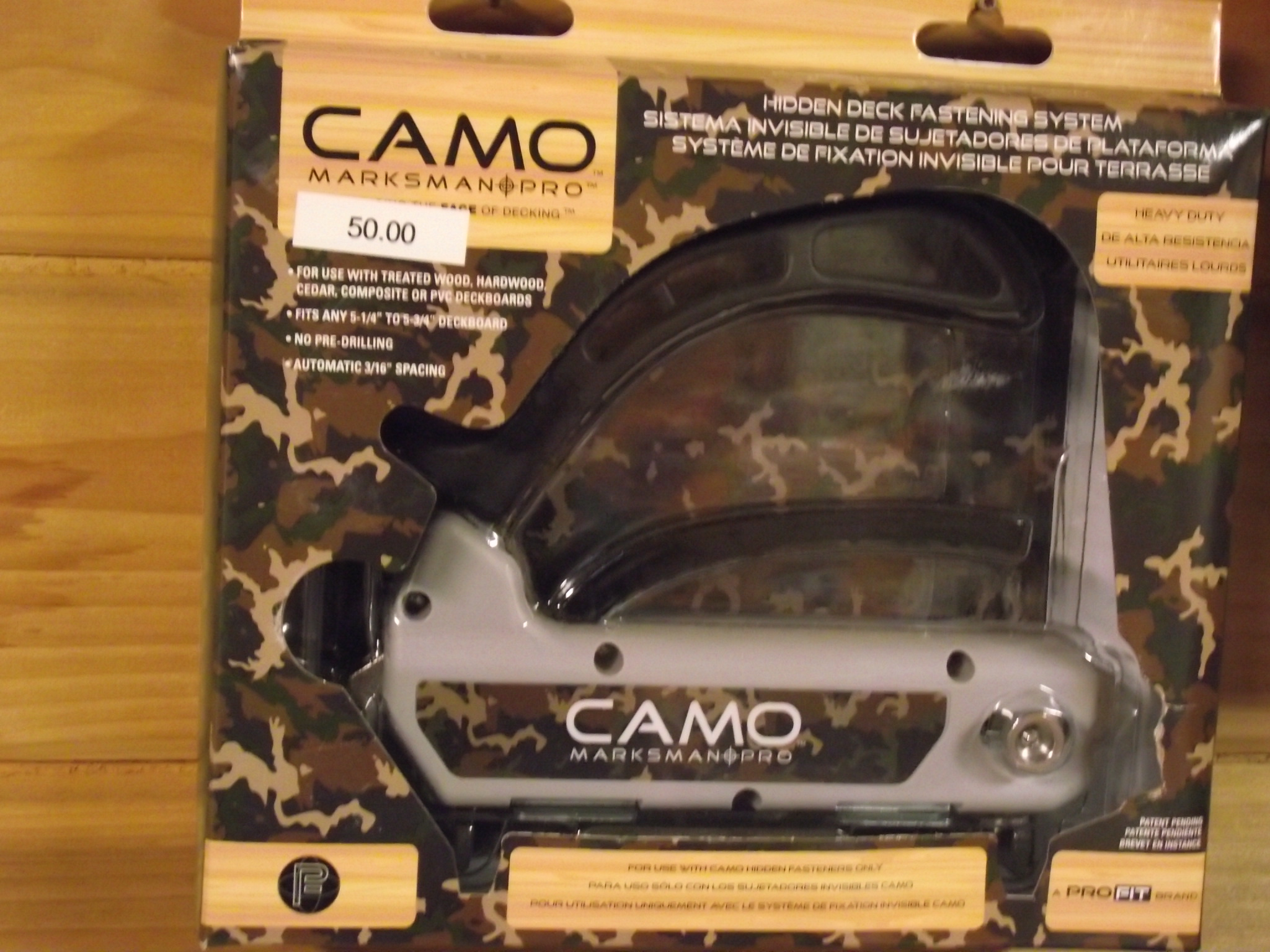 Picture of: Garden Patio Camo Marksman Pro Wide Board Deck Fastening Tool Na Ribe Dk