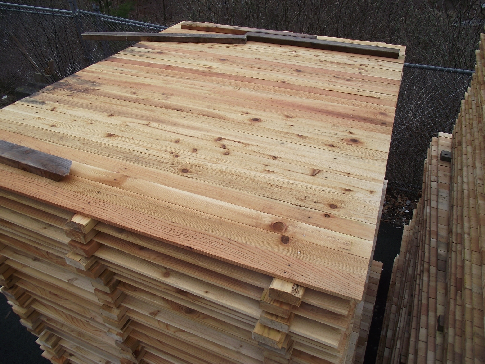 Pre Built Fence Panels 6 X 8 Long 171 Mill Outlet Lumber