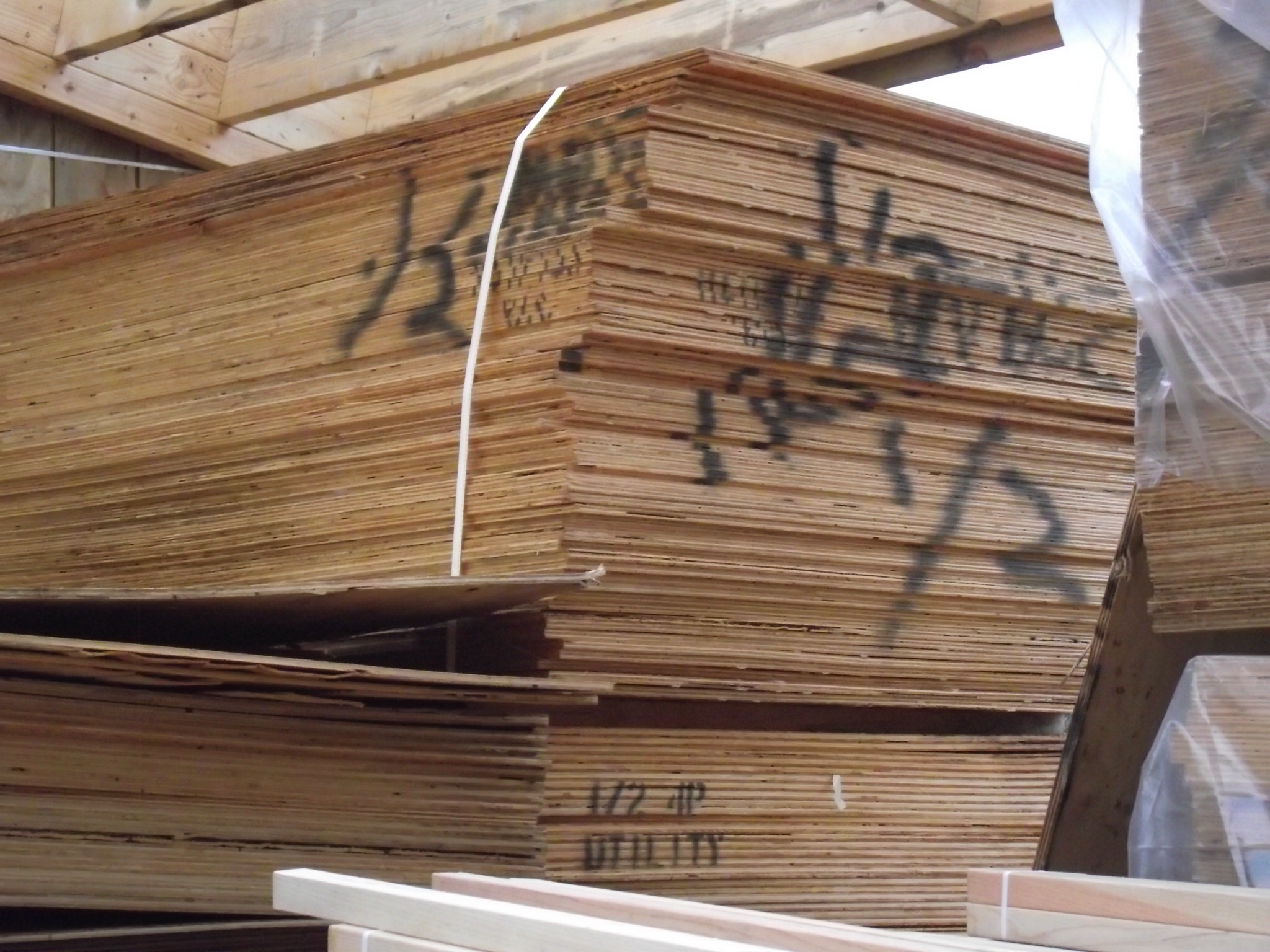 ″ shop grade cdx plywood « mill outlet lumber
