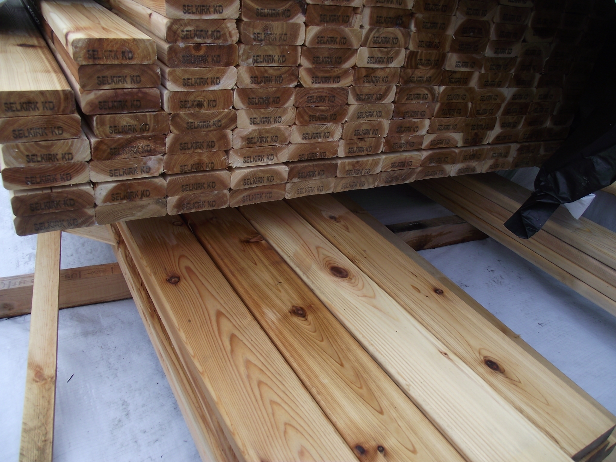 5 4 X 4 10 Western Red Cedar Select Knotty Decking