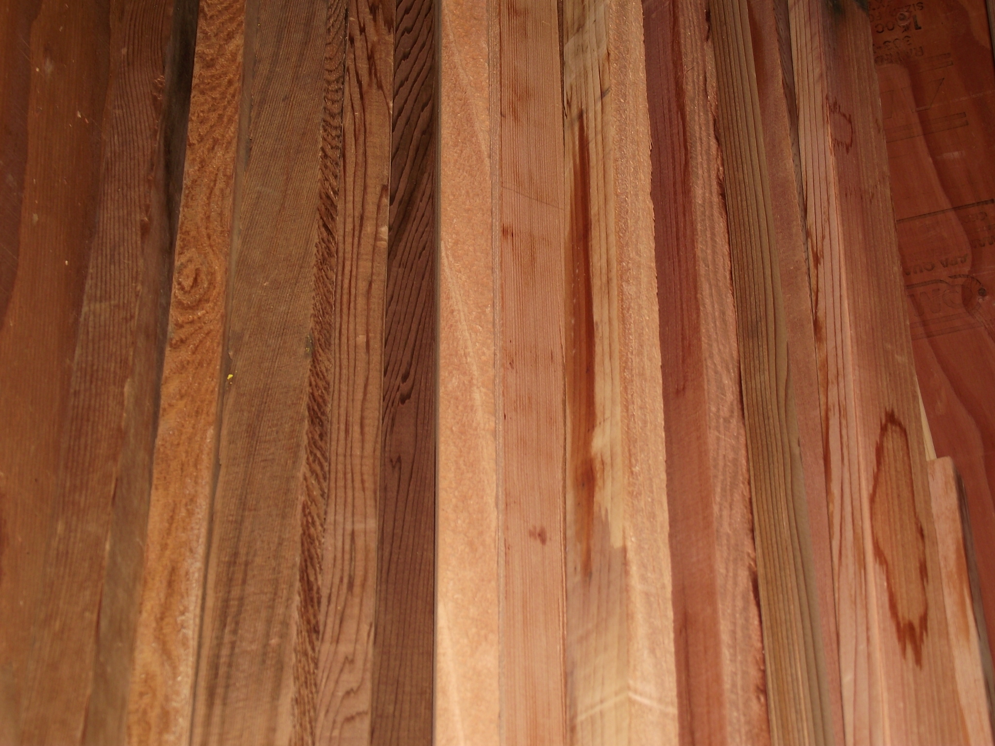 1 X 2 Clear Utility Cedar 171 Mill Outlet Lumber
