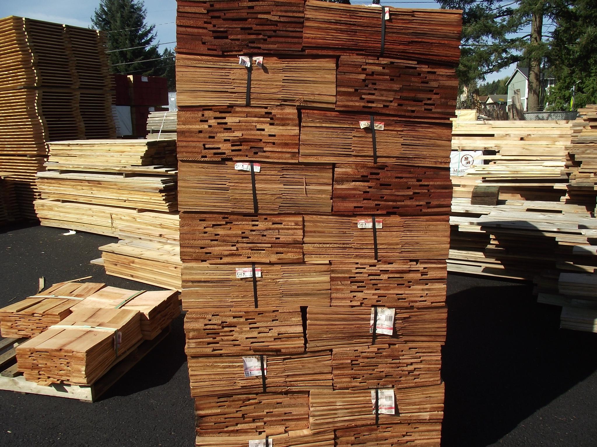 Western Red Cedar Shingles 2 Grade 171 Mill Outlet Lumber