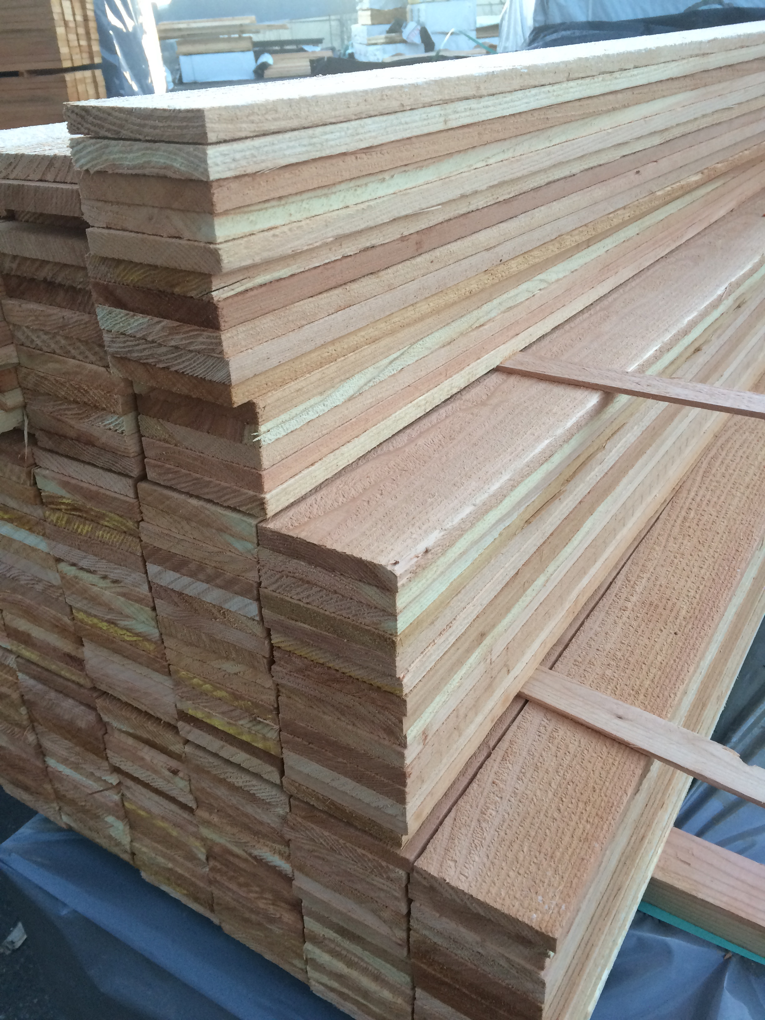 Treated Yellow Pine T G Porch Flooring T1 11 Plywood