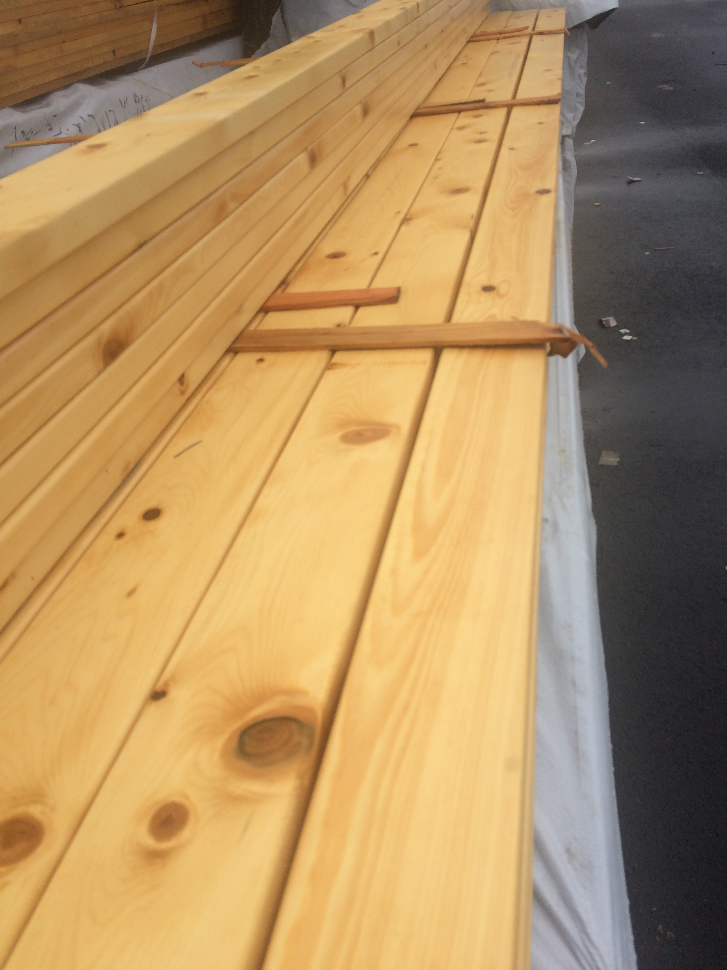 Alaskan Yellow Cedar Smooth Appearance Grade 4x4 171 Mill