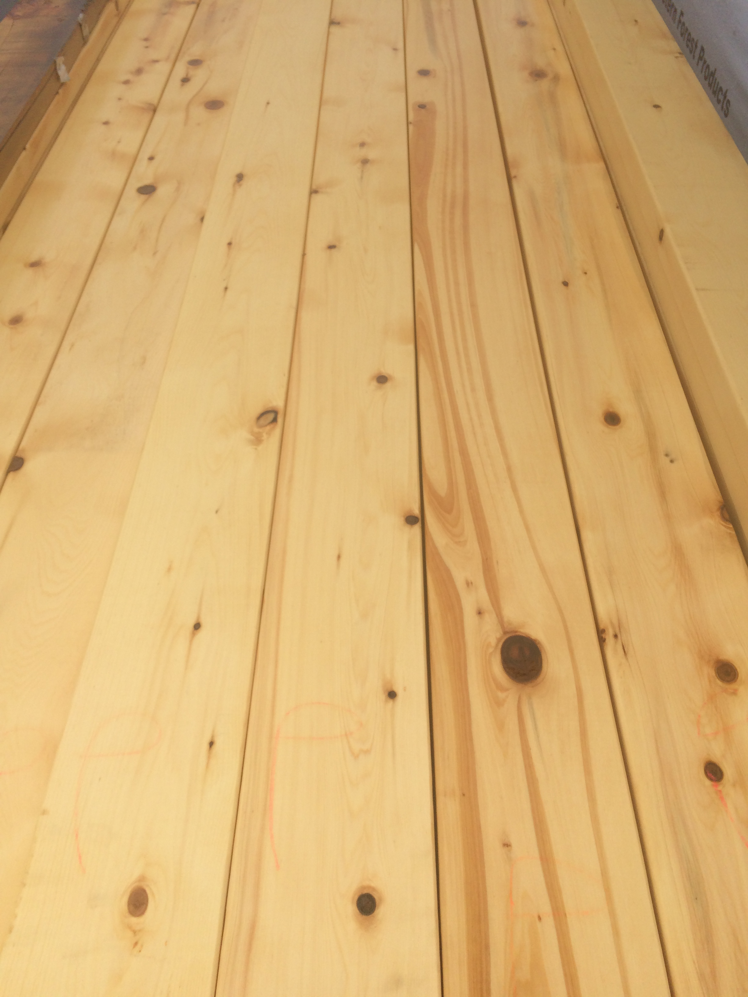 Alaskan Yellow Cedar Smooth Appearance Grade 4x4 171 Mill