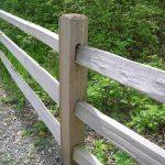 Cedar Split Rail