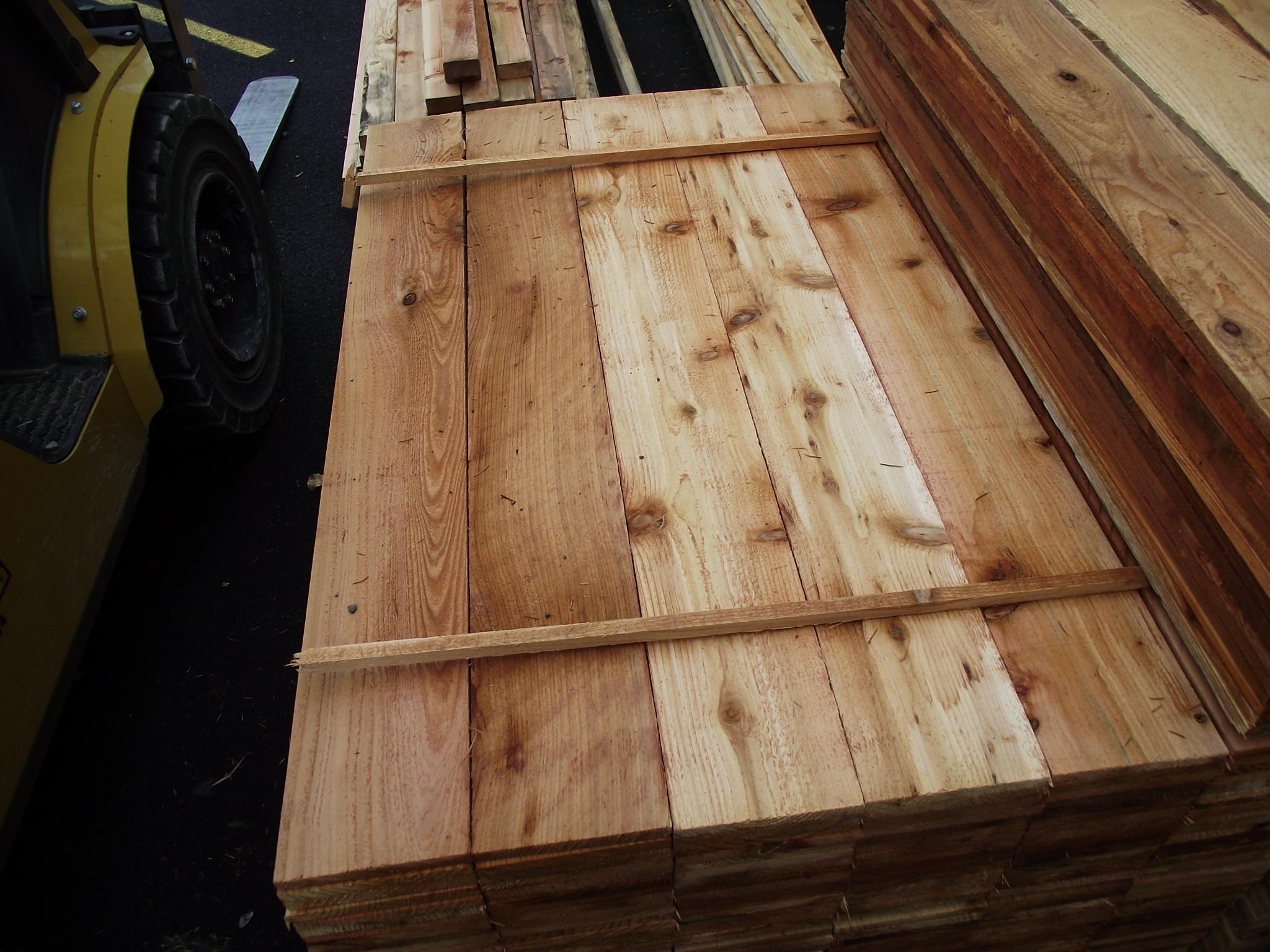 1 215 6 4 3 Cedar Fence Board 171 Mill Outlet Lumber