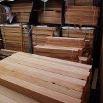 Clear Cedar Deck Railing Components