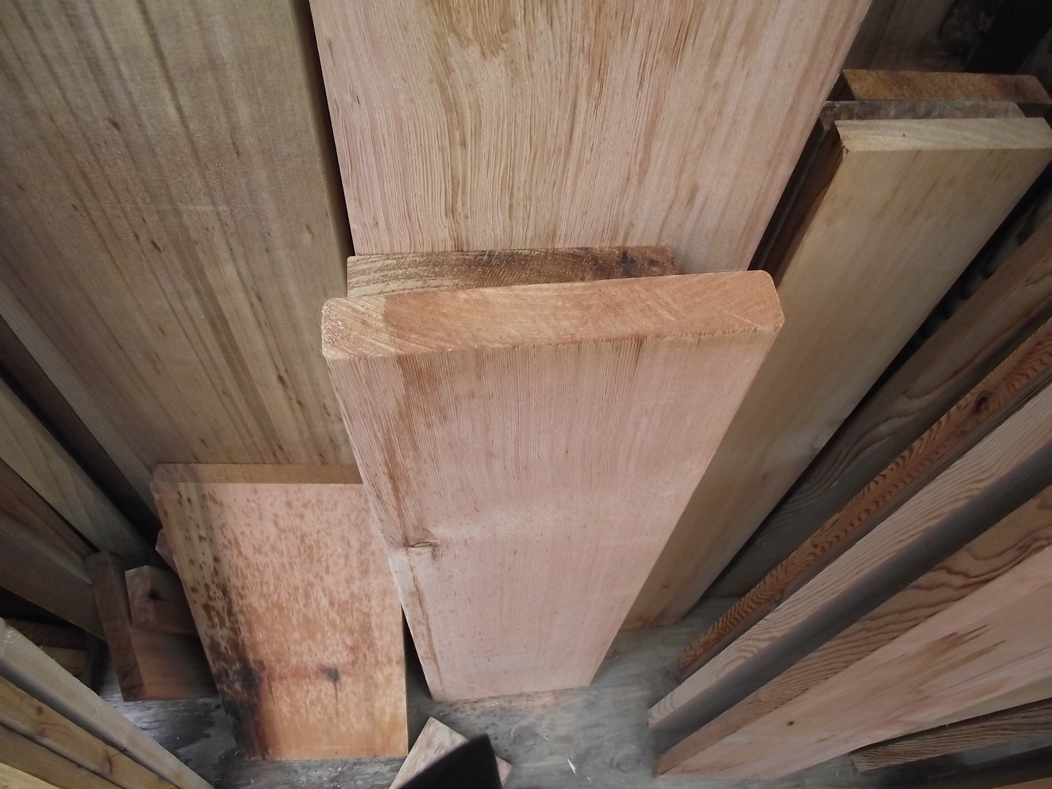 2 X 10 Clear Utility Cedar 171 Mill Outlet Lumber