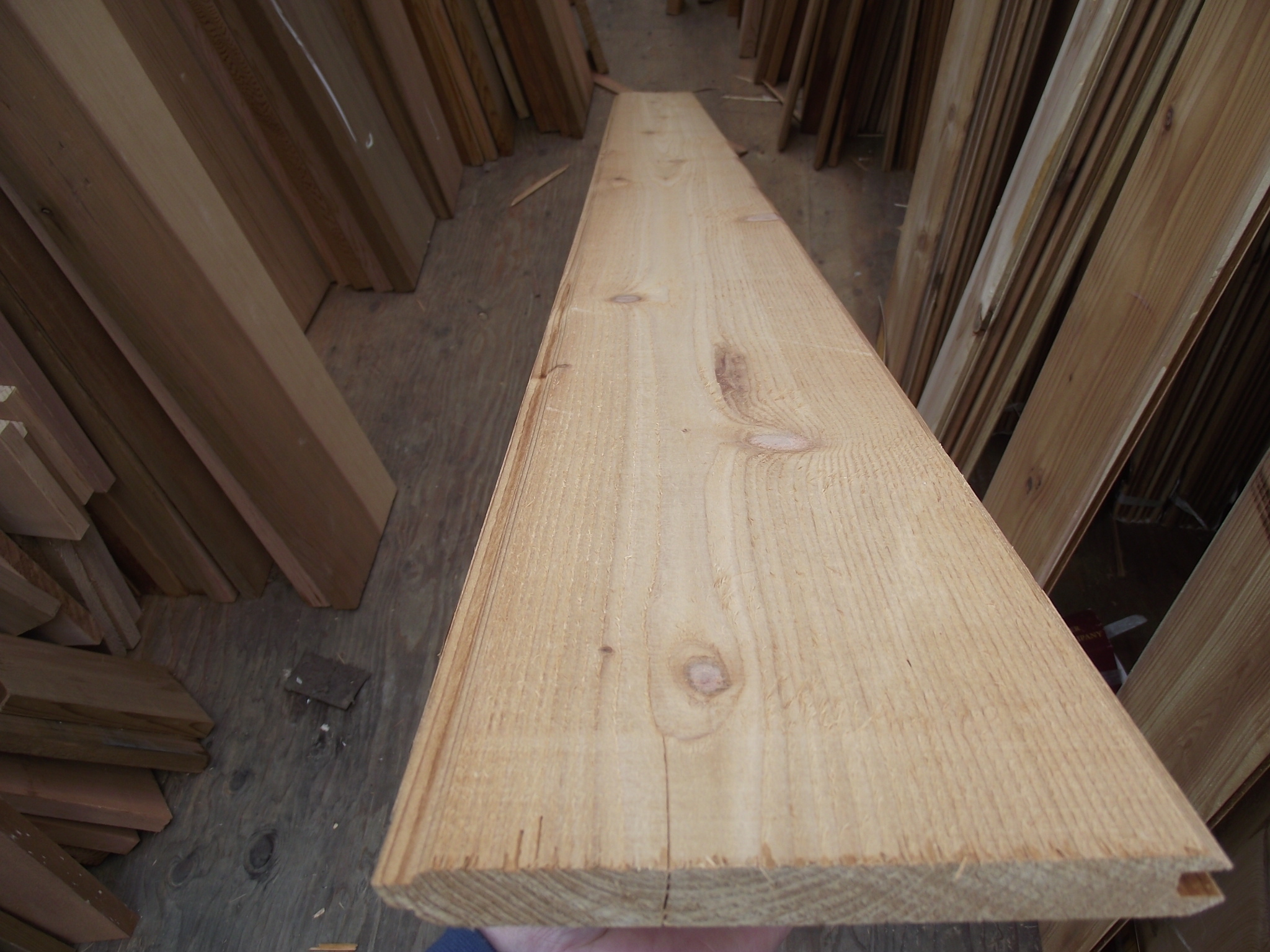 Cedar Tongue and Groove