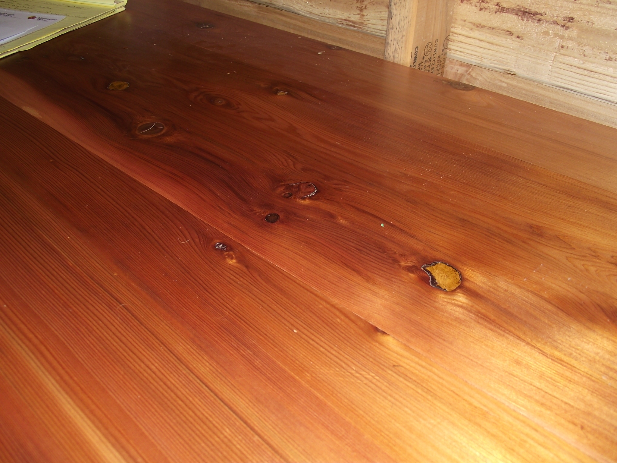 Red cedar flooring gurus floor for Cedar flooring