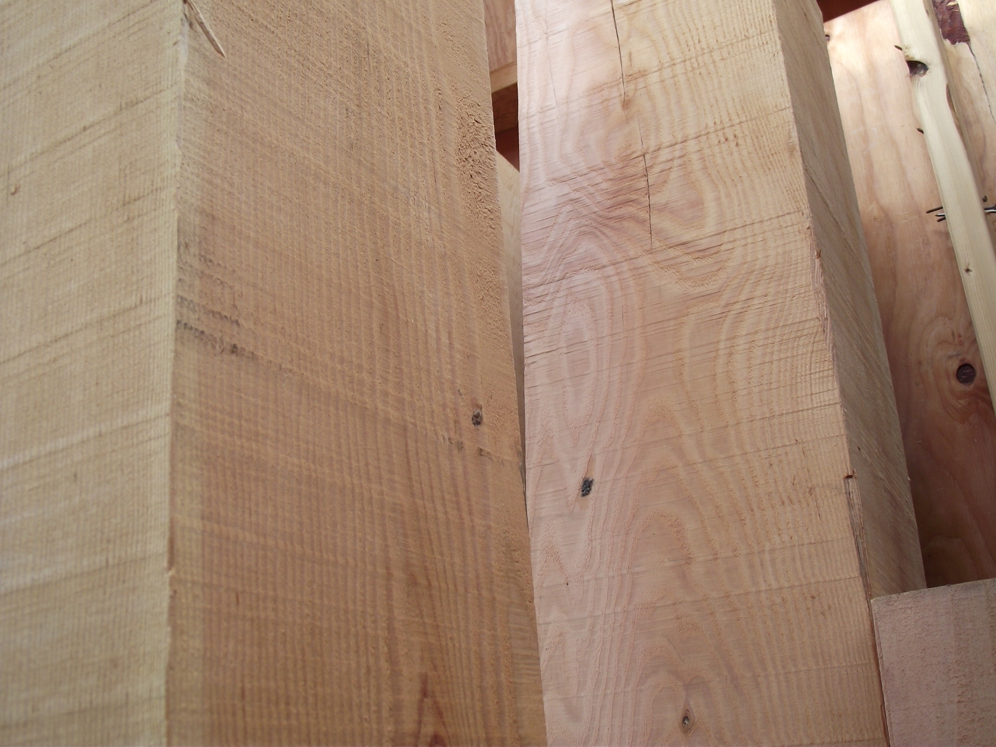 Rough 10 X 10 8 Douglas Fir Kiln Dried Appearance